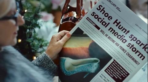 圣诞浪漫短片《水晶鞋》