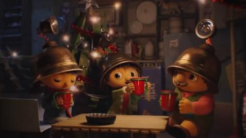 创意圣诞动画广告《migros》