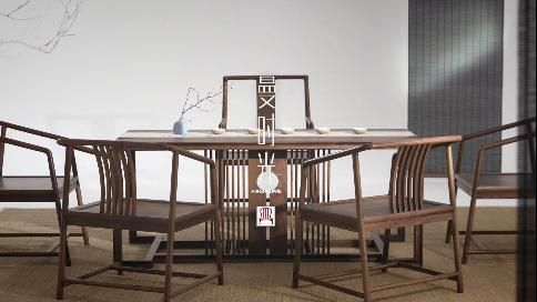 曼时光新中式茶桌:不为繁华易匠心