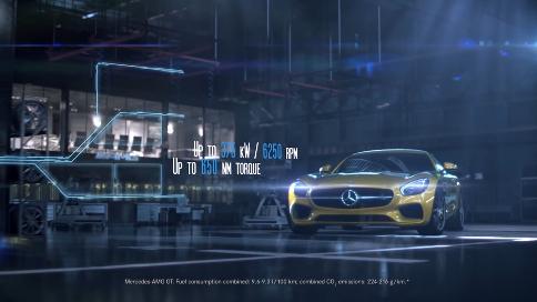 三维动画产品展示片:发动机全视角透视运作宣传广告