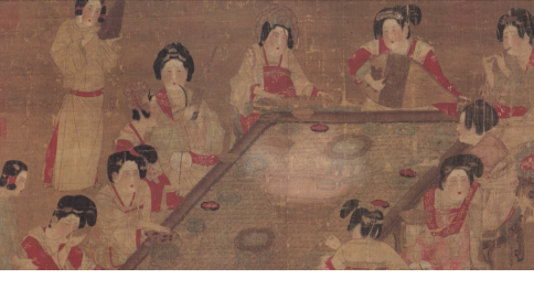 唐代古畫生動二維動畫