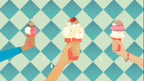 中国联通丨冰淇淋套餐动画