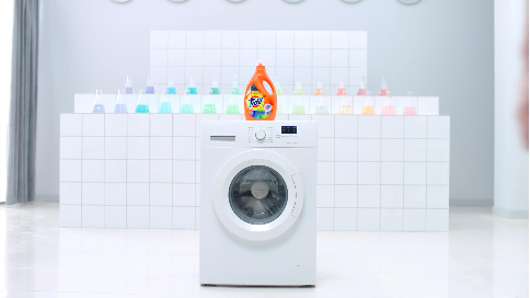 汰漬護色洗衣液產品視頻(張藝興代言)