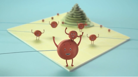 定格动画《靶向药大战癌细胞》,动画fun88官网!