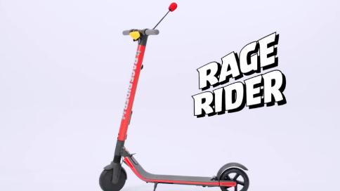 愤怒的小鸟推出十周年沙雕周边:用怒吼来发动的滑板车