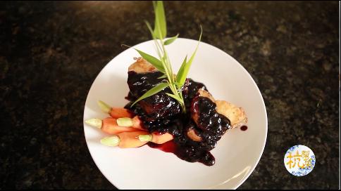 杭帮菜教学——蓝莓酥鱼