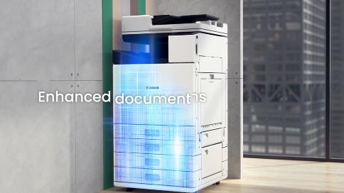 品牌打印机3D产品演示动画