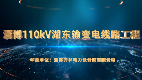 淄博110kV湖东输变电线路工程
