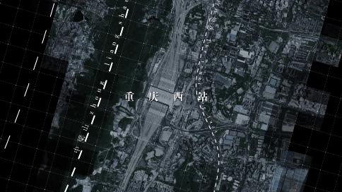 重庆西站导向视频