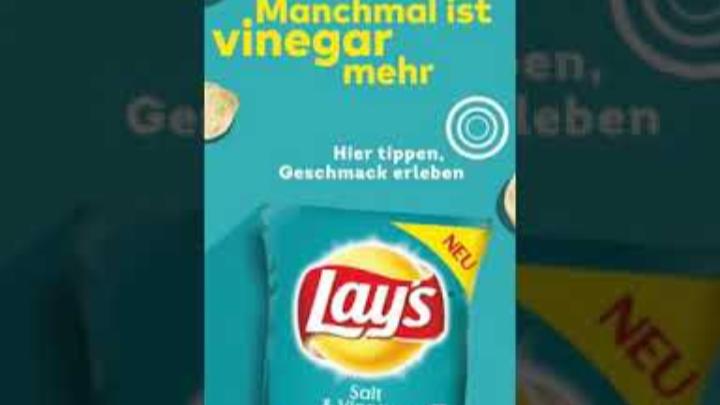 Lays Salt & Vinegar (PEPSICO)   #Ad Commercial Spot Instastories 2019