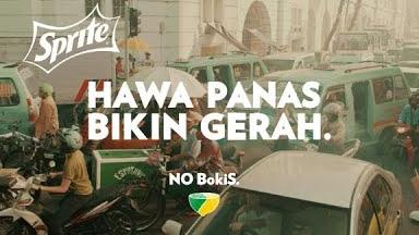 Iklan Sprite: Antara ucapan dan kenyataan. #PilihYangJernih #NyatanyaNyegerin #NOBokiS