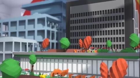 中粮置地广场动画宣传足球竞彩网站