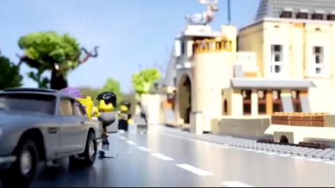 《007霹靂火》樂高版定格動畫