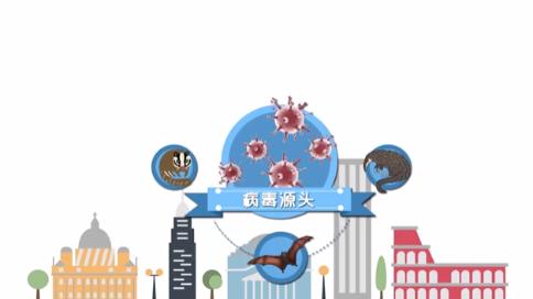 西安市防疫拒食野味公益宣傳片mg動畫