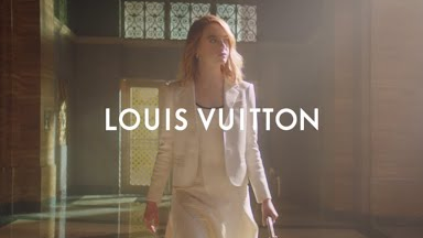 Emma Stone for Louis Vuitton Parfums - Le Jour se Lève