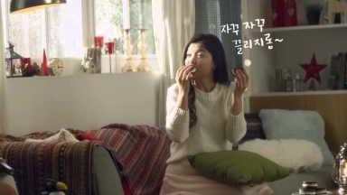 141128 오리온 초코파이情 김유정 - 추운겨울 유정이가 추천하는 초코파이情 맛있게 먹는 법 종합편 90`s