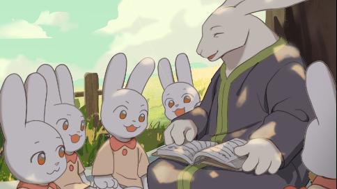 《小兔乖乖》防性侵动画短片