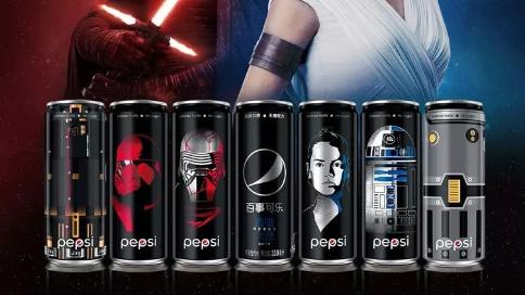 百事可樂無糖星球大戰系列廣告
