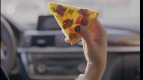 pizza 连锁店 抖音广告