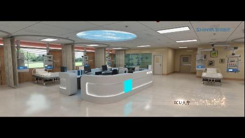 新华医疗手术室三维动画|济南巨蟹数字创意