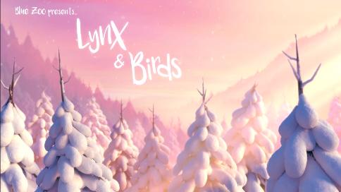 动画短片-猞猁和鸟