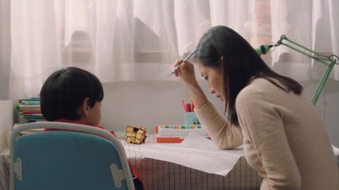 《作业难题》美团点评广告--家庭篇