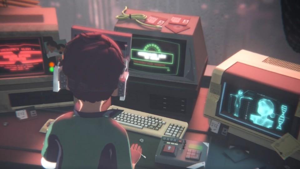 科幻系3D动画短片—《沉浸感》