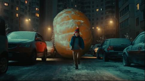俄罗斯宜家圣诞广告:浪费