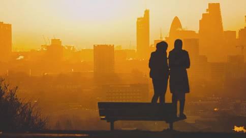 伦敦剪影城市纪录片《sun moon lundon》