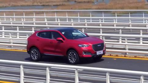 哈弗-F5汽车广告航拍-天眼通航拍-航拍部分