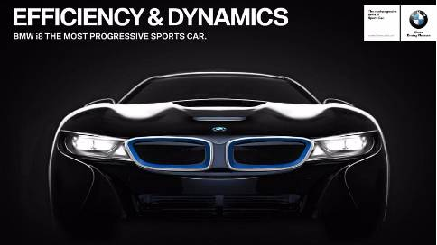 BMW i8 WeChat (10″)