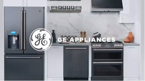 Ge Appliances整体厨房家的温暖
