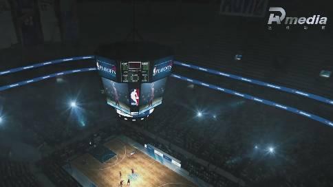 篮球场馆LED产品解决方案视频