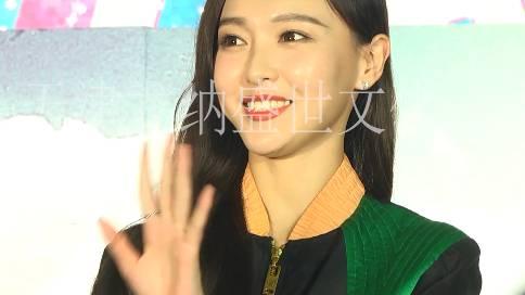 明星见面会 《赏金猎人》电影推广 唐嫣