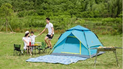 户外帐篷视频拍摄
