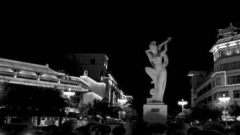 敦煌莫高窟第五十七窟观音菩萨画像宣传片