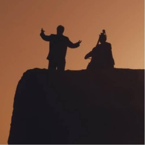 西北首部旅游电影《胡杨之恋》