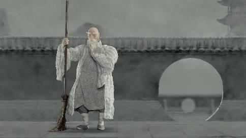 天龙八部·少林扫地僧