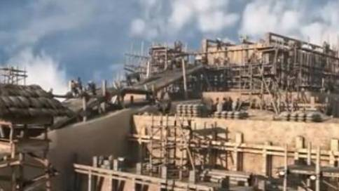 大型纪录片《帝陵》三维动画