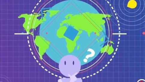 上海链ICO二维动画