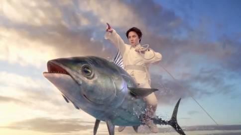 肯德基×尹正早餐新品广告