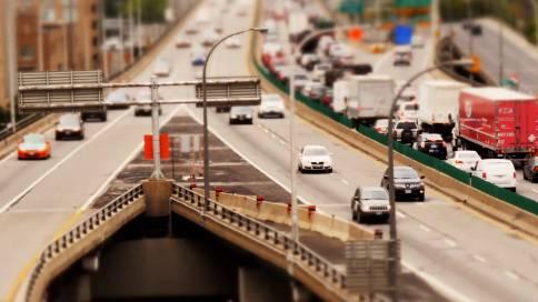 《微型多伦多》•航拍微型摄影展现多伦多城市生活