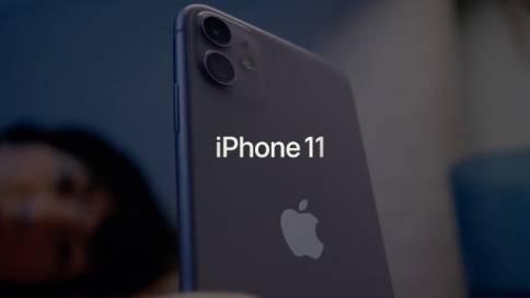 苹果iphone11广告