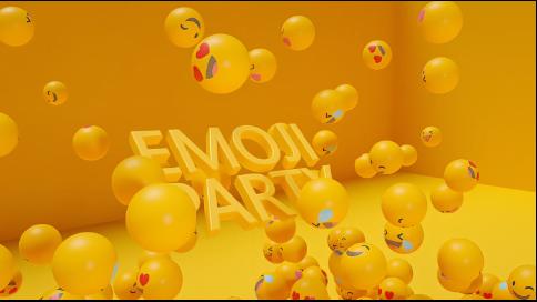 三維片頭-EMOJI