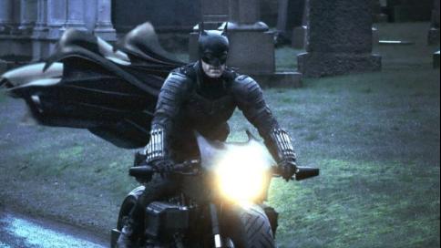 新《蝙蝠侠》拍摄片场