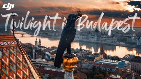 航拍:布达佩斯的黄昏