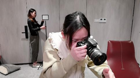 摄影敷面膜短视频