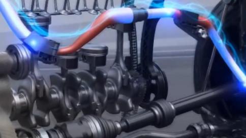 工业机械产品演示动画制作 新能源汽车结构仿真动画