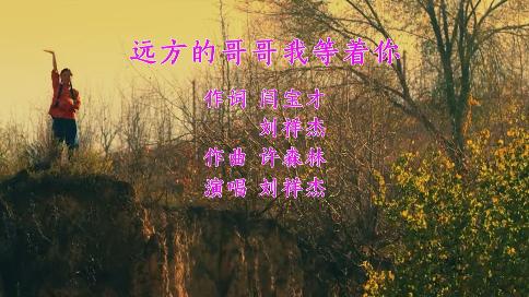 远方的哥哥我等着你(作词 闫宝才 刘祥杰 作曲 许森林 演唱 刘祥杰)