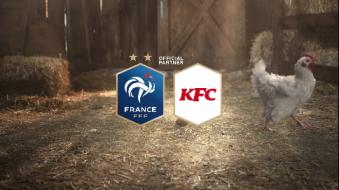 球技惊人的鸡!肯德基 x 欧洲杯法国队
